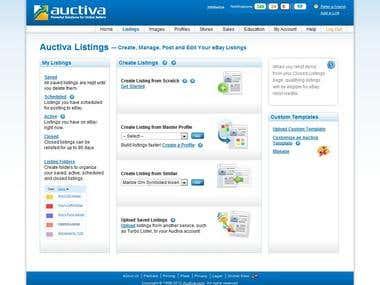 eBay Listing with Auctiva.com