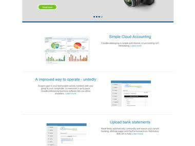 Cloudbookkeepers Accounting Website