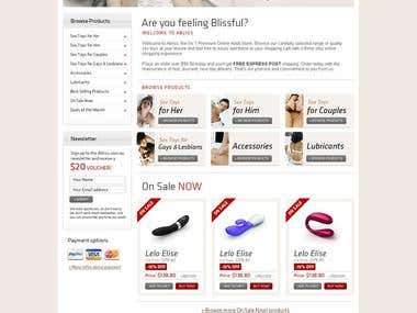 E-Commerce Web Design and Development