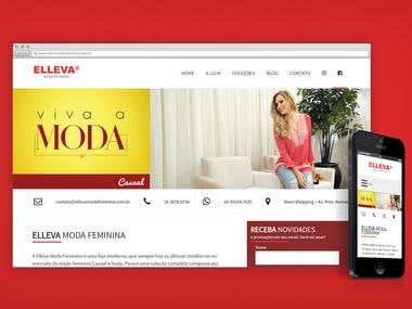 Elleva Moda Feminina - Website