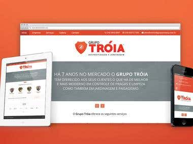 Grupo Tróia - Website