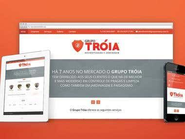 Grupo Tróia - Website