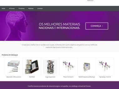 Pronec - Website