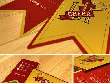Cheer Up - Website and Businnes Card