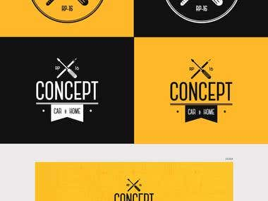 Concept Car e Home - Visual Identity