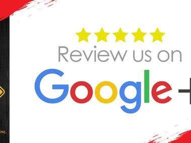 Fb , G+, Tripadvisor review