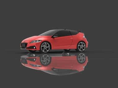3d model - Honda CR-Z Hybrid for the game.