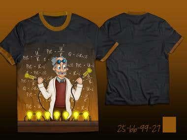 Ilustração Camisa eletrodinâmica