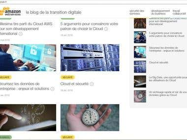 AWS blog transition digitale