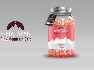 Packaging Design for Himalayan Pink Salt