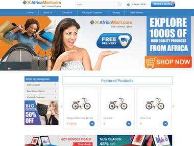 XAfricaMart - Multi-vendor eCommerce