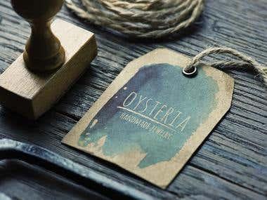 Branding for Oysteria Handmade Jewelry
