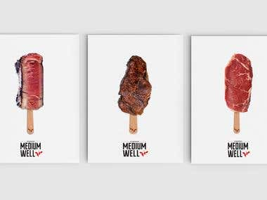 Branding for Steakhouse and meat store