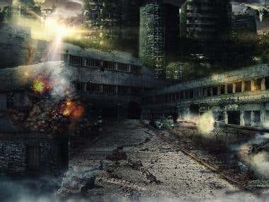 APOCALYPSE WAR - Digital Art