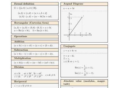 Cheat sheet (LaTeX & pgf/TikZ)