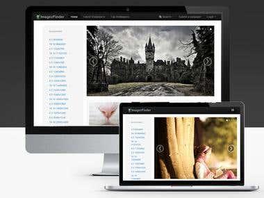 ImagezFinder web site