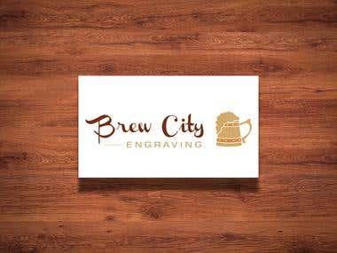 Brew City Engraving Logo