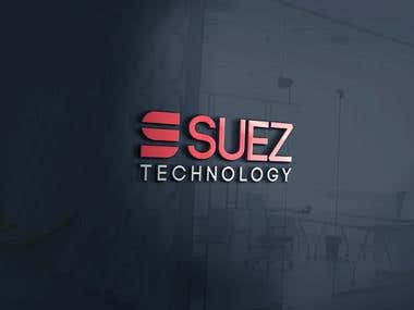 Suez Technology Logo Design