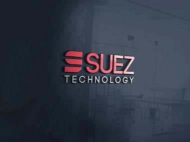 Suez Technology Logo Design