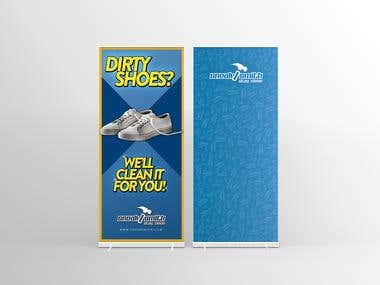 Roll Up Banner & Poster Design
