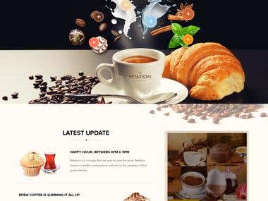 The Retation - Coffee, Bar and Bistr Template