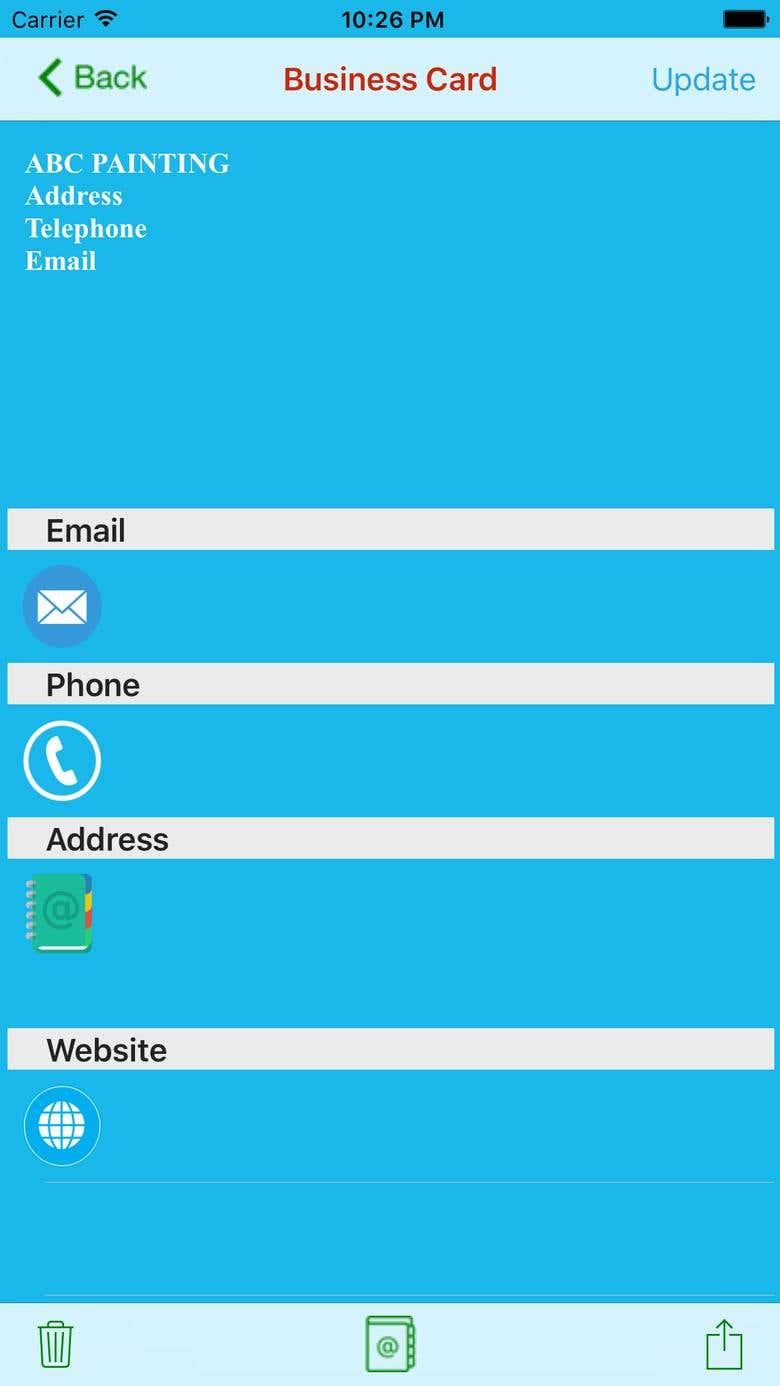 Biz Card Scanner | Freelancer