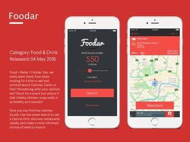 Foodar App