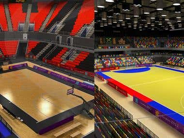 3D Sport Arenas