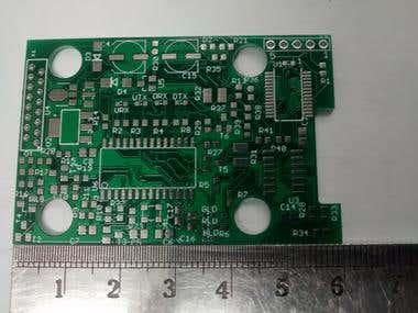 OBD2 PCB