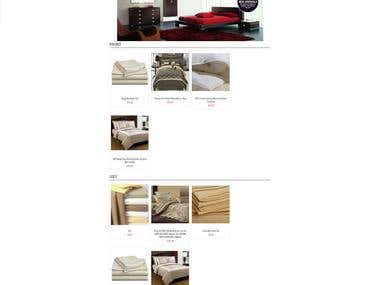 Developed an E-commerce website in 7 days