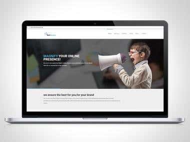 website design / web template