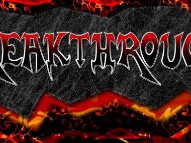 Rock  Band logo and promo design
