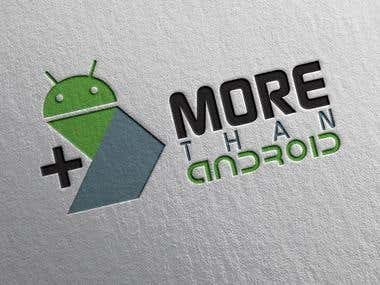 Logo More Than Android
