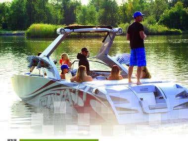 Pavati Wakeboarding Boats Magazine Ads