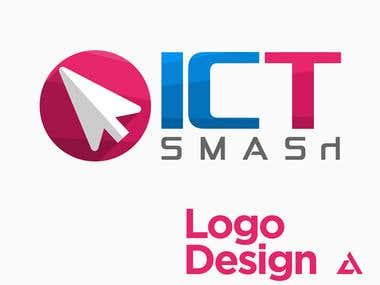 ICT Smash logo