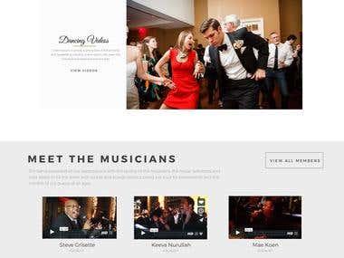 Website Design for David Rothstein Music