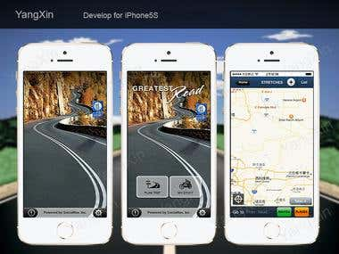 iPhone GPS App