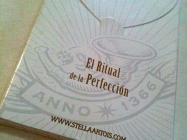 Stella Artois - Diseño Manual pocket + Estuche