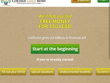 College Gold Rush