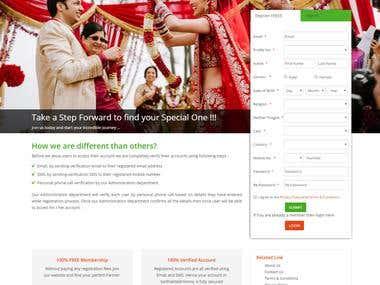 Matrimony website