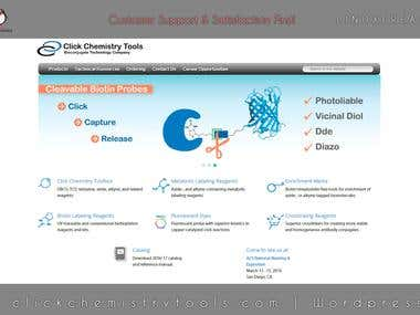 Clickchemistrytools website