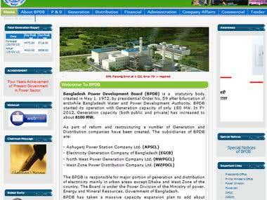 Power Development Board site