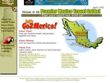 Go 2 Mexico Website