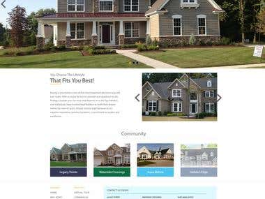 Real Estate Project  WordPress Design & Development