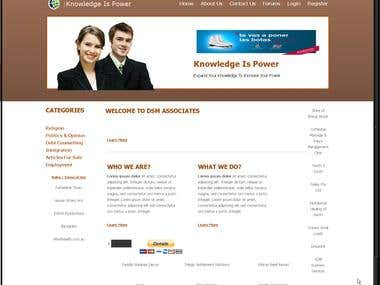 Website Design - ASP