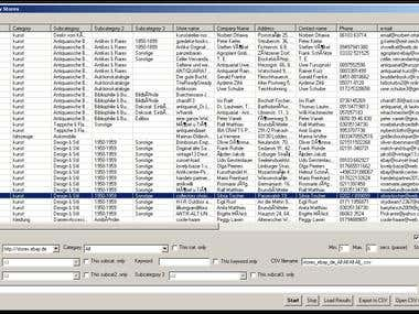 ebay Stores Scraper v1.0
