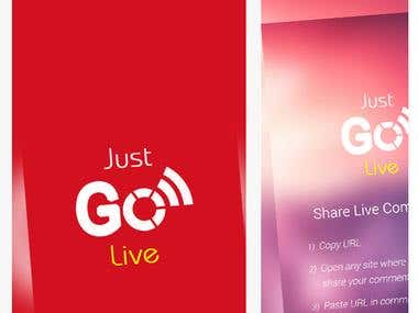 Just Go Live (iOS App)