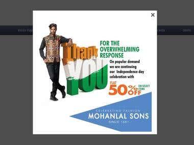 Mohanlalsons website
