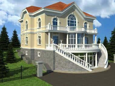 exterior work