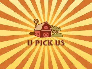 U-Pick.us logo contest